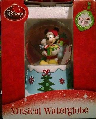 ディズニー スノーグローブ|スノードーム ミッキー クリスマス【We Wish You a Merry Xmas】