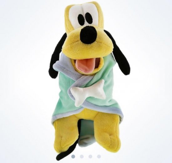 disney parks baby pluto with blanket plush new with tags