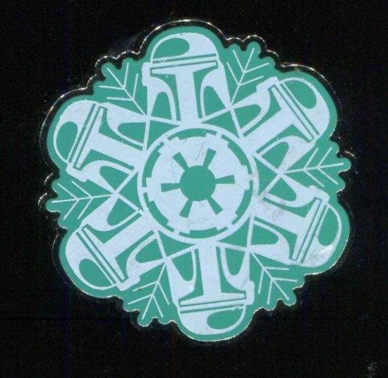 Star Wars Boba Fett pin badge