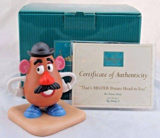 """ディズニー WDCC トイ・ストーリー2 Mr.ポテトヘッド  That's MISTER Potato Head to You"""""""