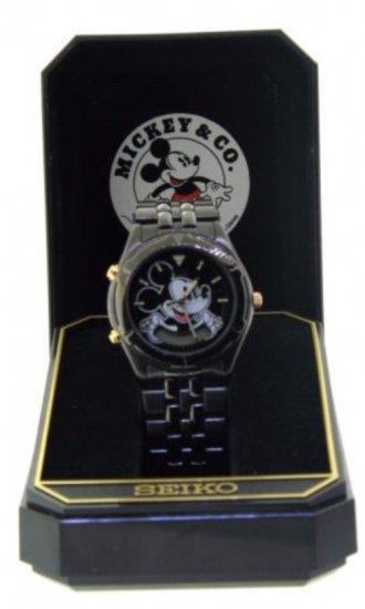 SEIKO セイコー ミッキーマウス アラーム クロノグラフ ウォッチ 腕時計
