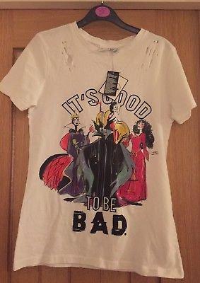 c85a503c0bb プライマーク Primark ヴィランズ It's Good To Be Bad Tシャツ ...