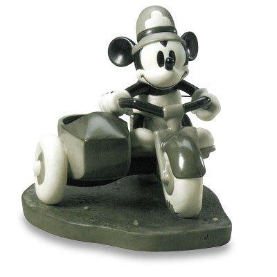 """ディズニー WDCC フィギュア ミッキーマウスと仲間たち 【Mickey Mouse """"On Patrol""""】 1217266"""