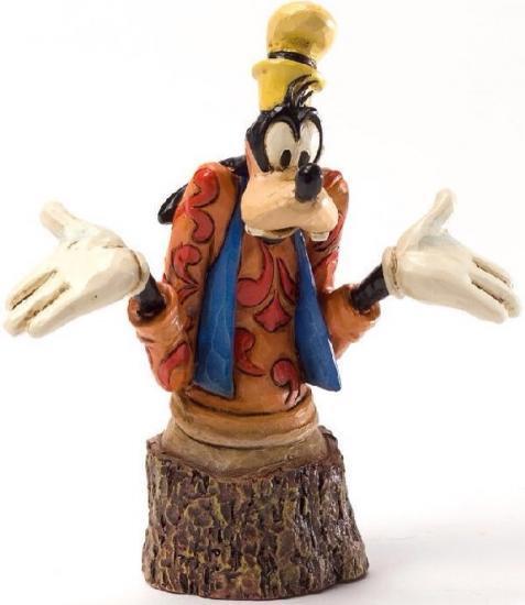 ジムショア(Jim Shore) ディズニー グーフィー 【Goofy Carved By Heart Figurine】 4033290