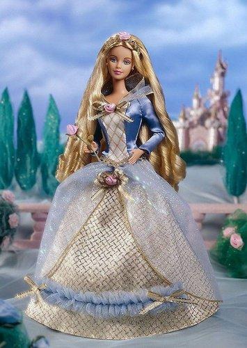 ディズニーフィギュア 眠れる森の美女 オーロラ姫 バービー 【Barbie as Sleeping Beauty 1997】