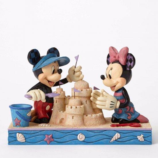 ディズニートラディション Jim Shore ミッキー&ミニー【Seaside Mickey & Minnie】4050413
