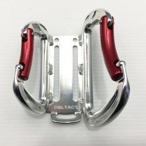 【DBLTACT】カラビナ工具差しダブル 1603C【カラビナ大×小】