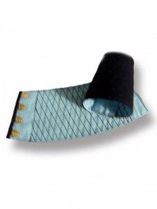 【予約商品】きねや 青縞紺手甲 藍染匠 4枚ハゼ