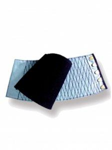 【予約商品】きねや 青縞紺手甲 藍染匠 5枚ハゼ