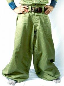 【鳶革命】8000鳶ズボン-カーキグリーン