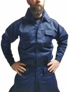 【鳶革命】8000手甲シャツ-極紺