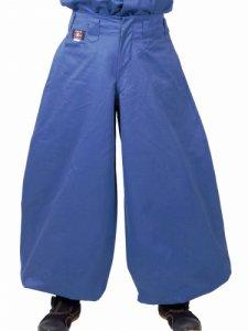 【丸源】 鳶ズボン 8000番 シャドー ブルー