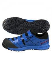 アシックス ウィンジョブ FCP102 安全スニーカー 安全靴 ブルー×ホワイト