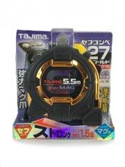 【TAJIMA】 コンベックス セフコンベG3ゴールドロックマグ爪27 5.5m  SFG3GLM27-55BL