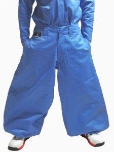 ◆夏限定色◆【鳶革命】8000鳶ズボン-スカイブルー
