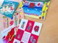 クリスマスカード(小)◆アソート5枚セット