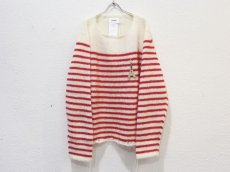 <img class='new_mark_img1' src='https://img.shop-pro.jp/img/new/icons14.gif' style='border:none;display:inline;margin:0px;padding:0px;width:auto;' />doublet / FRENCH BORDER MOHAIR PULLOVER