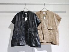 <img class='new_mark_img1' src='https://img.shop-pro.jp/img/new/icons14.gif' style='border:none;display:inline;margin:0px;padding:0px;width:auto;' />no. / 2ND ECO LEATHER VEST