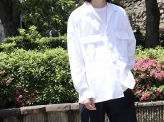 <img class='new_mark_img1' src='https://img.shop-pro.jp/img/new/icons20.gif' style='border:none;display:inline;margin:0px;padding:0px;width:auto;' />UNIVERSAL PRODUCTS / LOOSE OPEN COLLAR SHIRT