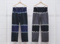 <img class='new_mark_img1' src='https://img.shop-pro.jp/img/new/icons14.gif' style='border:none;display:inline;margin:0px;padding:0px;width:auto;' />UNUSED / 13oz tie dye denim pants