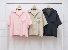 <img class='new_mark_img1' src='https://img.shop-pro.jp/img/new/icons14.gif' style='border:none;display:inline;margin:0px;padding:0px;width:auto;' />UNUSED WOMENS / Short sleeve rayon shirt
