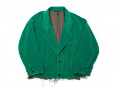 <img class='new_mark_img1' src='https://img.shop-pro.jp/img/new/icons14.gif' style='border:none;display:inline;margin:0px;padding:0px;width:auto;' />doublet / CUT OFF VELVET JACKET