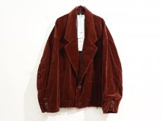 doublet / CUT OFF VELVET JACKET<img class='new_mark_img2' src='https://img.shop-pro.jp/img/new/icons47.gif' style='border:none;display:inline;margin:0px;padding:0px;width:auto;' />
