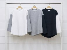 <img class='new_mark_img1' src='https://img.shop-pro.jp/img/new/icons14.gif' style='border:none;display:inline;margin:0px;padding:0px;width:auto;' />UNUSED / Three quarter sleeve thermal