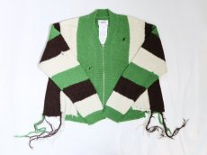 doublet / ZIP UP STRIPE CARDIGAN<img class='new_mark_img2' src='https://img.shop-pro.jp/img/new/icons47.gif' style='border:none;display:inline;margin:0px;padding:0px;width:auto;' />