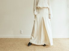 <img class='new_mark_img1' src='https://img.shop-pro.jp/img/new/icons14.gif' style='border:none;display:inline;margin:0px;padding:0px;width:auto;' />ARCHI / SOFT TWIST TWILL WIDE TACK PANTS