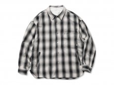 ROTOL / SNAP BUTTON SHIRT - OMBRECHECK<img class='new_mark_img2' src='https://img.shop-pro.jp/img/new/icons47.gif' style='border:none;display:inline;margin:0px;padding:0px;width:auto;' />