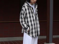 <img class='new_mark_img1' src='https://img.shop-pro.jp/img/new/icons14.gif' style='border:none;display:inline;margin:0px;padding:0px;width:auto;' />ROTOL / MASK HOOD SHIRT - OMBRECHECK