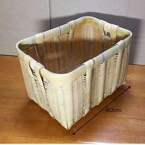 アウトレット 籠、竹かご、バスケット、収納、日本製、竹細工、インテリア、野菜入れ 、小物入れ、キッチン用品、道具入れに、国産 御用かご(小)