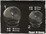 ガラスドーム 30mm/25mm(口径大)