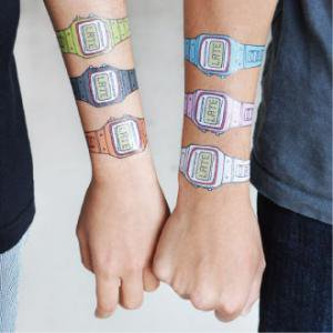 【TATTLY】You're Late (1PCS 2枚入) SALE!