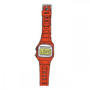 【TATTLY】Love watch (1PCS 2枚入) SALE!
