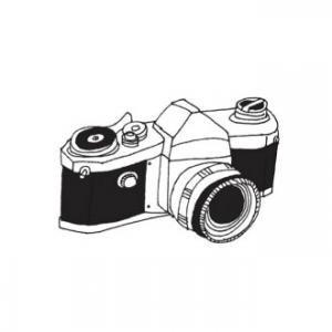 【TATTLY】Camera1 (1PCS 2枚入) SALE!
