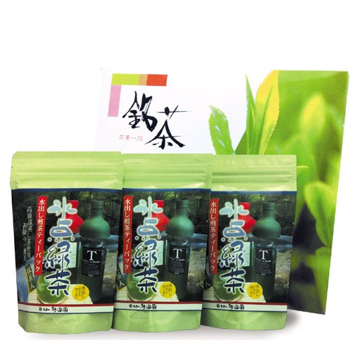 水出し煎茶「氷点緑茶」ティーバック4g×20袋 3本入