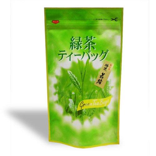 上煎茶若緑 緑茶ティーバッグ 4g×20パック