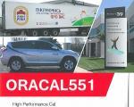 ORACAL551 屋外7〜8年耐候性/2次曲面用途