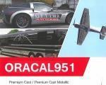 ORACAL951/3次曲面用/長期プレミアムメタリックシート