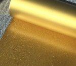 ラバープリントシート32cm幅×63� ラメ入りゴールド