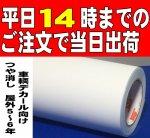 【651】つや消し白 20cm幅×5mロール