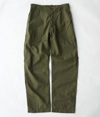 KAPTAIN SUNSHINE High Count Lt.Weather Eazy Utility Trousers [OLIVE]