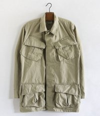 60's U.S.ARMY ジャングルファティーグジャケット[Bleach Out / Beige]