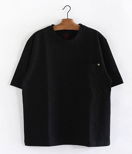 ANACHRONORM Standard Heavy Weight Pocket T-shirt [BLACK]