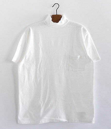 KAPTAIN SUNSHINE Navy Yard Neck Tee [WHITE]