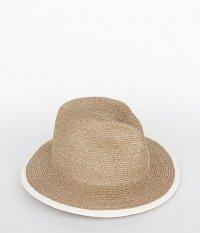Chapeaugraphy Long Brim Paper Hat [BEIGE]