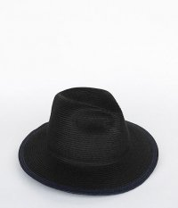 Chapeaugraphy Long Brim Paper Hat [BLACK  RADICAL����]