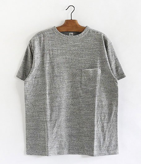 KAPTAIN SUNSHINE Basic Pocket Tee [FEATHER GRAY]